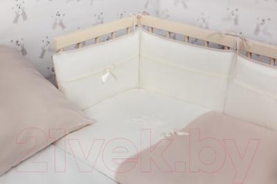 Комплект постельный в кроватку Perina Лошадка Mini / ЛМ4-01.2