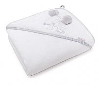 Полотенце с капюшоном Perina Мышка / ПД-01.95 (белый) -