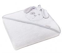 Полотенце с капюшоном Perina Зайка / ПД-04.95 (белый) -