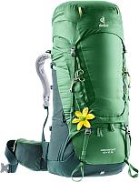 Рюкзак туристический Deuter Aircontact 60 + 10 SL / 3320419 2238 (Leaf/Forest) -