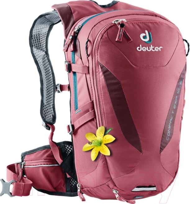 Купить Рюкзак Deuter, Compact EXP 10 SL 2019-20 / 3200115 5527 (Cardinal-Maron), Германия, полиэстер