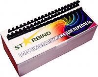 Пружины для переплета Starbind 22мм / BP22Bk (50шт, черный) -
