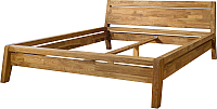 Каркас кровати Stanles Бриджит 160x200 (дуб с воском) -