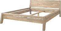 Каркас кровати Stanles Бриджит 160x200 (отбеленный дуб) -