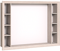 Панель для ТВ/аппаратуры Глазов Montpellier 1 (дуб млечный) -