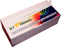 Пружины для переплета Starbind 38мм / BP38Wt (50шт, белый) -