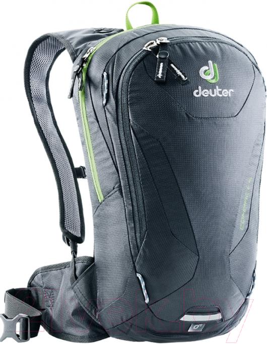 Купить Рюкзак велосипедный Deuter, Compact 6 2019-20 / 3200018 7000 (Black), Германия, полиуретан