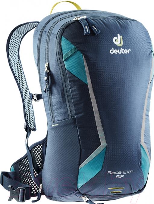 Купить Рюкзак велосипедный Deuter, Race EXP Air 2019-20 / 3207318 3397 (Navy-Denim), Германия, нейлон