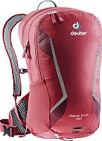 Рюкзак велосипедный Deuter Race EXP Air / 3207318 5528 (Cranberry/Maron) -