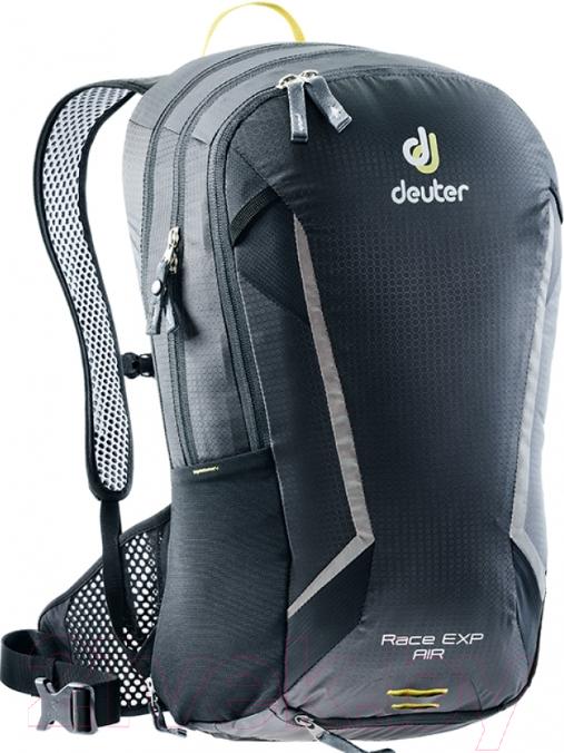 Купить Рюкзак велосипедный Deuter, Race EXP Air 2019-20 / 3207318 7000 (Black), Германия, нейлон