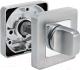 Фиксатор дверной защелки Morelli MH-WC-S55 SC/CP -