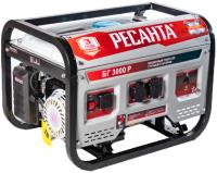 Бензиновый генератор Ресанта БГ-3000Р (64/1/43) -