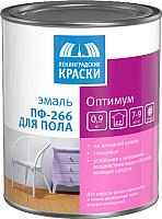 Эмаль Ленинградские краски Оптимум ПФ-266 (22кг, золотистый) -