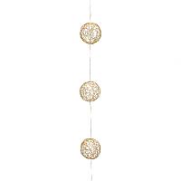 Тайские фонарики Gasper 8519509-99 (10 шаров, золото) -