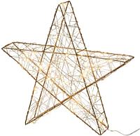 Светодиодная фигура 3D Gasper Звезда / 8518504-39 (золото) -