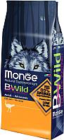 Корм для собак Monge BWild Adult All Breeds Ostrich (15кг) -