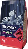 Корм для собак Monge BWild Puppy All Breeds Deer (2кг) -