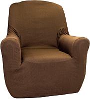 Чехол на кресло Belmarti Рустика (марон) -