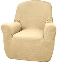 Чехол на кресло Belmarti Рустика (бежевый) -