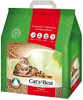Наполнитель для туалета Cat's Best Original (10л) -