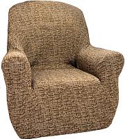 Чехол на кресло Belmarti Мальта (марон) -