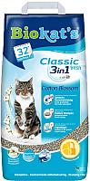 Наполнитель для туалета Biokat's Classic Fresh 3 в 1 Cotton Blossom (10кг) -