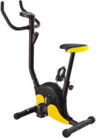 Велотренажер DFC B8012 (черный/желтый) -