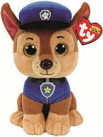 Мягкая игрушка TY Щенячий патруль. Щенок Chase / 41208 -