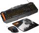 Клавиатура+мышь Canyon CND-SGS01-RU (с ковриком) -