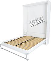 Шкаф-кровать Макс Стайл Kart 36мм 90x200 (белый базовый W908 ST2) -