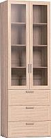 Шкаф с витриной Глазов Регата 13 (дуб сонома) -
