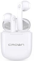 Наушники-гарнитура Crown CMTWS-5002 (белый) -