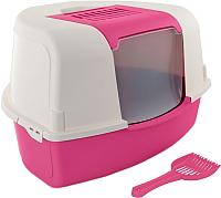 Туалет-домик MP Bergamo Ariel Corner / 31.06MIX (розовый) -
