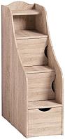 Лестница для кровати Глазов Adele 91 (дуб сонома) -
