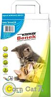 Наполнитель для туалета Super Benek Corn Cat Морской бриз (7л) -