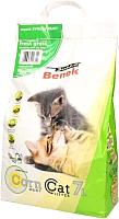 Наполнитель для туалета Super Benek Corn Cat Свежая трава (7л) -