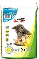 Наполнитель для туалета Super Benek Corn Cat Морской бриз (25л) -