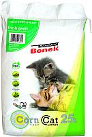 Наполнитель для туалета Super Benek Corn Cat Свежая трава (25л) -