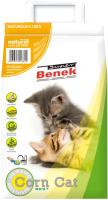 Наполнитель для туалета Super Benek Corn Cat натуральный (25л) -