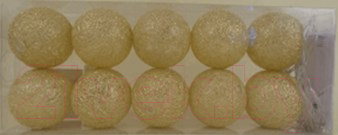 Тайские фонарики Подари 61001 (4/золото)