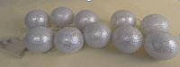 Тайские фонарики Подари 61001 (7/серебристый перламутр) -