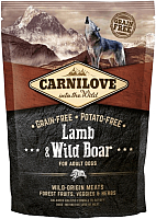 Корм для собак Carnilove Adult Lamb & Wild Boar / 150824 (1.5кг) -