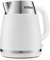 Электрочайник Kitfort KT-695-3 (белый) -