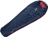 Спальный мешок Deuter Dreamlite левый 2019-20 / 3703019 3524 (Navy/Cranberry) -