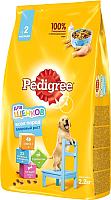 Корм для собак Pedigree Для щенков всех пород с 2 месяцев с курицей (2.2кг) -