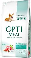 Корм для собак Optimeal Puppies с индейкой (12кг) -