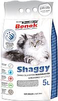 Наполнитель для туалета Super Benek Shaggy (5л) -