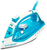 Утюг Endever Delta-201 (белый/голубой) -
