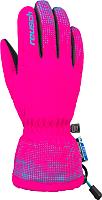 Перчатки горнолыжные Reusch Xaver R-Tex XT Junior / 4761209 303 (р-р 5, Pink Glo/Bachelor Button) -