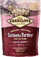 Корм для кошек Carnilove For Kittens with Salmon & Turkey / 512232 (400г) -